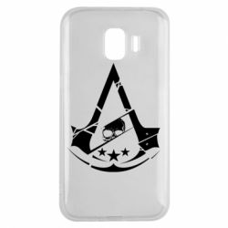 Чехол для Samsung J2 2018 Assassin's Creed and skull 1