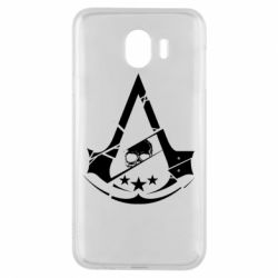Чехол для Samsung J4 Assassin's Creed and skull 1