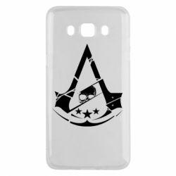 Чехол для Samsung J5 2016 Assassin's Creed and skull 1