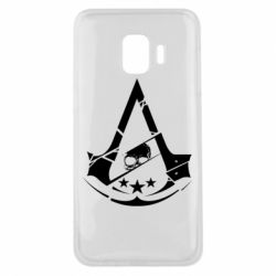 Чохол для Samsung J2 Core Assassin's Creed and skull 1