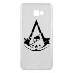 Чехол для Samsung J4 Plus 2018 Assassin's Creed and skull 1
