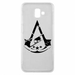 Чехол для Samsung J6 Plus 2018 Assassin's Creed and skull 1