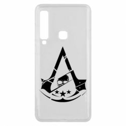 Чехол для Samsung A9 2018 Assassin's Creed and skull 1
