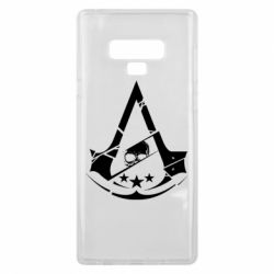 Чехол для Samsung Note 9 Assassin's Creed and skull 1