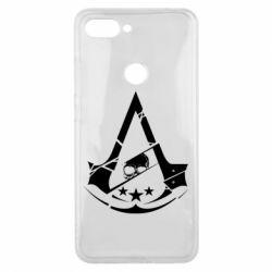 Чехол для Xiaomi Mi8 Lite Assassin's Creed and skull 1