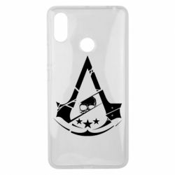 Чехол для Xiaomi Mi Max 3 Assassin's Creed and skull 1