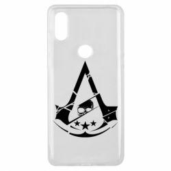 Чехол для Xiaomi Mi Mix 3 Assassin's Creed and skull 1