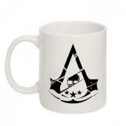 Кружка 320ml Assassin's Creed and skull 1