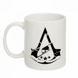 Купить Кружка 320ml Assassin's Creed and skull 1, FatLine