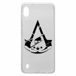 Чохол для Samsung A10 Assassin's Creed and skull 1