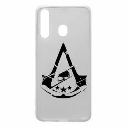 Чехол для Samsung A60 Assassin's Creed and skull 1