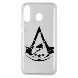 Чехол для Samsung M30 Assassin's Creed and skull 1