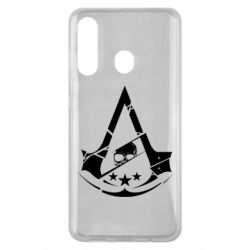 Чехол для Samsung M40 Assassin's Creed and skull 1