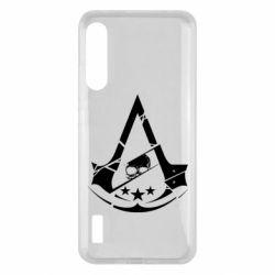 Чохол для Xiaomi Mi A3 Assassin's Creed and skull 1