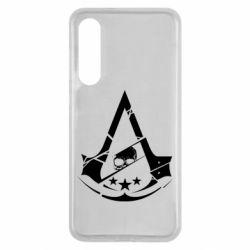 Чехол для Xiaomi Mi9 SE Assassin's Creed and skull 1