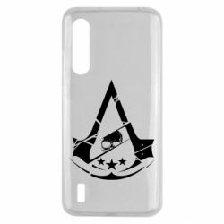Чехол для Xiaomi Mi9 Lite Assassin's Creed and skull 1