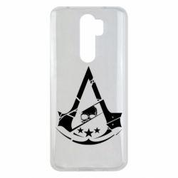 Чехол для Xiaomi Redmi Note 8 Pro Assassin's Creed and skull 1