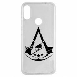 Чехол для Xiaomi Redmi Note 7 Assassin's Creed and skull 1