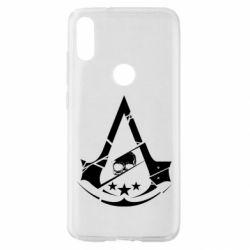 Чехол для Xiaomi Mi Play Assassin's Creed and skull 1