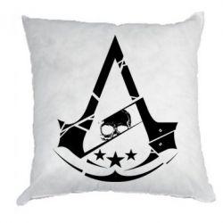 Подушка Assassin's Creed and skull 1