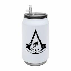 Термобанка 350ml Assassin's Creed and skull 1