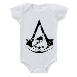 Дитячий бодік Assassin's Creed and skull 1