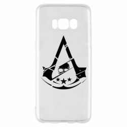 Чехол для Samsung S8 Assassin's Creed and skull 1