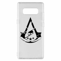 Чехол для Samsung Note 8 Assassin's Creed and skull 1