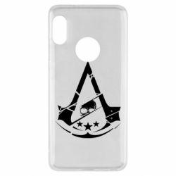 Чехол для Xiaomi Redmi Note 5 Assassin's Creed and skull 1