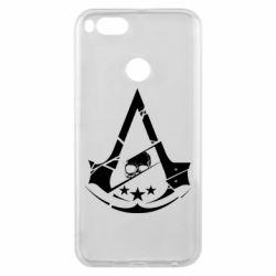 Чехол для Xiaomi Mi A1 Assassin's Creed and skull 1