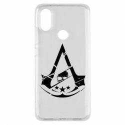 Чехол для Xiaomi Mi A2 Assassin's Creed and skull 1