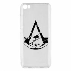 Чехол для Xiaomi Mi5/Mi5 Pro Assassin's Creed and skull 1