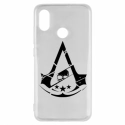 Чехол для Xiaomi Mi8 Assassin's Creed and skull 1