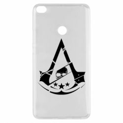 Чехол для Xiaomi Mi Max 2 Assassin's Creed and skull 1