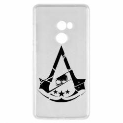 Чехол для Xiaomi Mi Mix 2 Assassin's Creed and skull 1