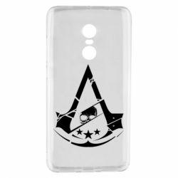 Чехол для Xiaomi Redmi Note 4 Assassin's Creed and skull 1