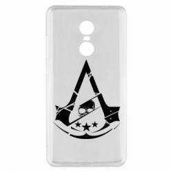 Чехол для Xiaomi Redmi Note 4x Assassin's Creed and skull 1