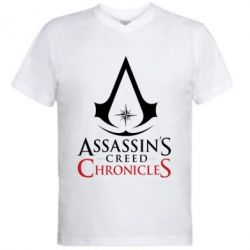 Чоловіча футболка з V-подібним вирізом Assassin's creed ChronicleS