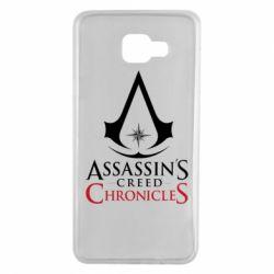 Чохол для Samsung A7 2016 Assassin's creed ChronicleS