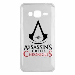 Чохол для Samsung J3 2016 Assassin's creed ChronicleS