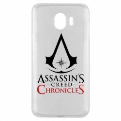 Чохол для Samsung J4 Assassin's creed ChronicleS