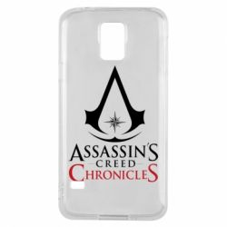 Чохол для Samsung S5 Assassin's creed ChronicleS