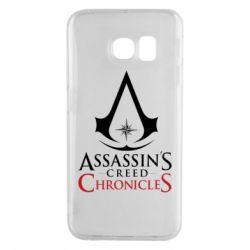 Чохол для Samsung S6 EDGE Assassin's creed ChronicleS
