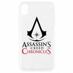Чохол для iPhone XR Assassin's creed ChronicleS