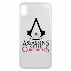 Чохол для iPhone Xs Max Assassin's creed ChronicleS