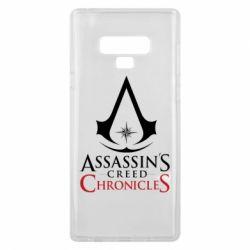 Чохол для Samsung Note 9 Assassin's creed ChronicleS