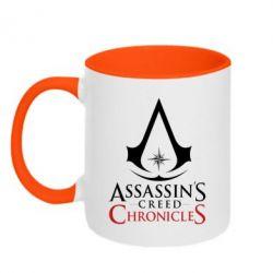 Кружка двоколірна 320ml Assassin's creed ChronicleS