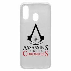 Чохол для Samsung A40 Assassin's creed ChronicleS