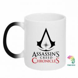 Кружка-хамелеон Assassin's creed ChronicleS