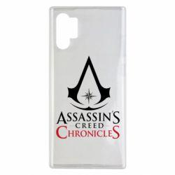 Чохол для Samsung Note 10 Plus Assassin's creed ChronicleS